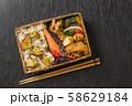 ピクニックのおべんとう Picnic lunch (outdoor bento) 58629184