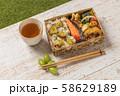 ピクニックのおべんとう Picnic lunch (outdoor bento) 58629189