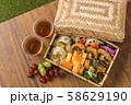 ピクニックのおべんとう Picnic lunch (outdoor bento) 58629190