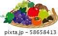 果物の盛り合わせ ザル盛り 58658413