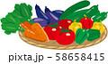 野菜の盛り合わせ ザル盛り 58658415