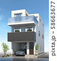 戸建て住宅 58663677