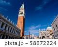 ベネチア サン・マルコ広場 58672224