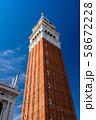 ベネチア サン・マルコ広場 鐘楼 58672228