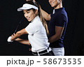 ゴルフ ゴルフレッスン  58673535