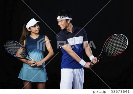 テニス テニススクール 男女 58673641