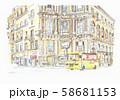世界遺産の街並・イタリア・パレルモのクアットロカンテイ 58681153
