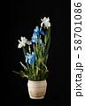 Flower arrangement of flowers. 58701086