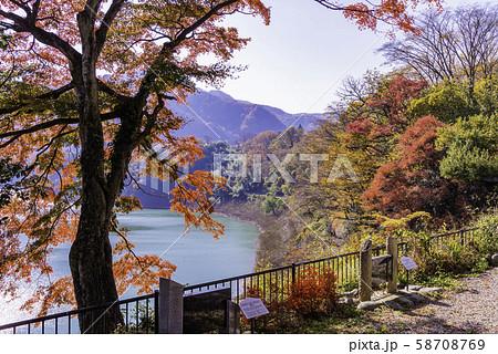 (群馬県)猿ヶ京温泉・赤谷湖 湖畔の句碑 58708769