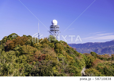 【静岡県沼津市】香貫山山頂の電波塔 58710838