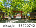 三の鳥居 大原野神社 参道 58720742