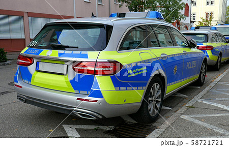パトカー(ドイツ) 58721721