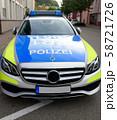 パトカー(ドイツ) 58721726