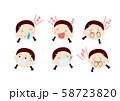 花粉症・風邪_女の子 58723820