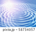 Abstract background with wavy ripples and sunlight 58734057