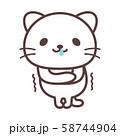 白猫【寒い】 58744904