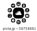 グラフィックデザイン 58758881