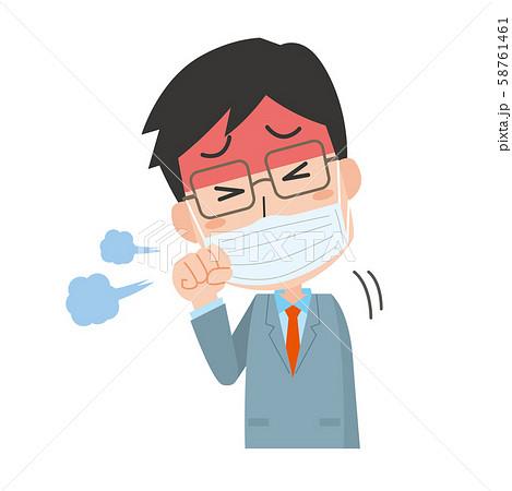 男性 風邪 せき 咳 58761461