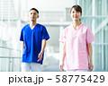 病院 医療 看護師 ナース 医者 医師 58775429
