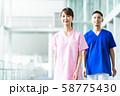 病院 医療 看護師 ナース 医者 医師 58775430