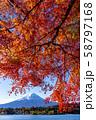 富士山 紅葉 58797168