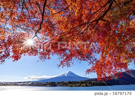 富士山 紅葉 58797170