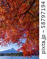 富士山 紅葉 58797194
