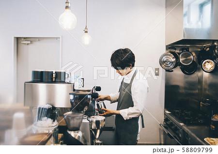 カフェ スタッフ アルバイト 58809799