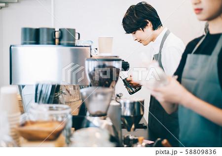 カフェ スタッフ アルバイト 58809836