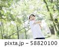 女性 ゴルフ 58820100