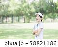 女性 テニス 58821186