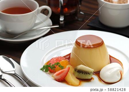 プリン デザート カフェ スイーツ デザート盛り合わせ 盛り合わせ 食後デザート おしゃれ   58821428