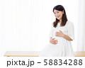 30代 妊婦さん 58834288