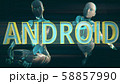 Android Future Concept 3D Illustration 58857990
