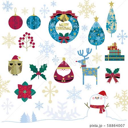 クリスマスいろいろ 58864007