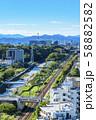 【東京都】町田市役所から見た街並み 58882582