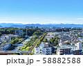 【東京都】町田市役所から見た街並み 58882588