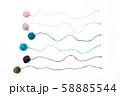 小さな毛糸玉のタイトルバック 58885544