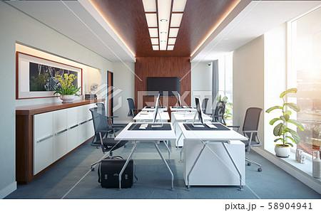 Modern  office interior design 58904941
