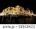ドム百貨店 モスクワ イルミネーション ロシア デパート 夜景 58916422