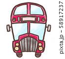 R:ノスタルジックな二階建てバス 58917237