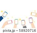 スマートフォン カメラ撮影1 58920716