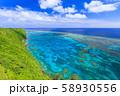 伊良部島_サンゴ礁の絶景 58930556