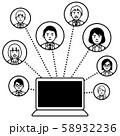 関連図 パソコン 58932236