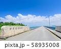 宮古島_絶景の池間大橋 58935008
