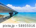 宮古島_絶景の池間大橋 58935016