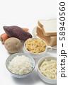 糖質制限ロカボダイエットをするための食べてはいけない食材 58940560