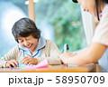 レクリエーション 折り紙 介護イメージ シニア デイケア 介護福祉士 老人ホーム 58950709