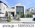 個性的な住宅 58959320