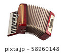 Retro accordion isolated 58960148